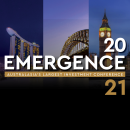 Emergence 2021 – Australasia's flagship investment conference